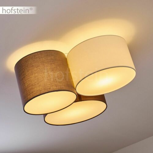 Wohn Schlaf Zimmer Beleuchtung Flur Dielen Leuchten Stoff bunt Decken Lampen