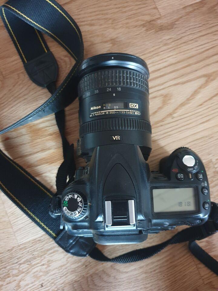 Nikon Nikon d90, spejlrefleks, God