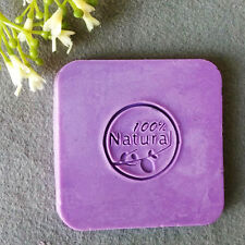 100% Natural Handmade Soap Seal Stamp Mold Chapter Acrylic Glass Customized DIY