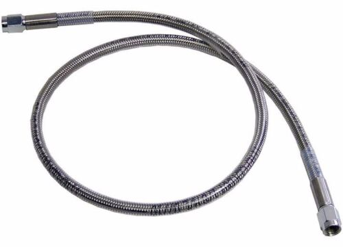 """3 AN 18/"""" Stainless Steel Braided Brake Line Assembled Straight Straight"""
