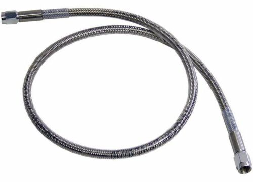 """3 AN 36/"""" Stainless Steel Braided Brake Line Assembled Straight Straight"""