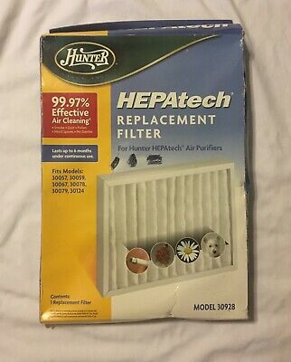 Atomic 30930 Compatible Filter For Hunter 30928 HEPA Air Purifier 1