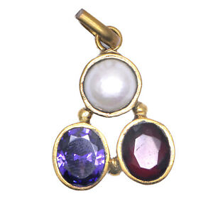 Triratan-Gemstone-Pendent-Triratna-Gemstone-Pendent-100-Best-Quality-Pendent