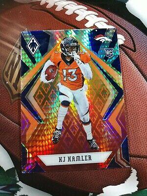 2020 Panini Phoenix Fire Burst #120 KJ Hamler Denver Broncos Rookie Football Card