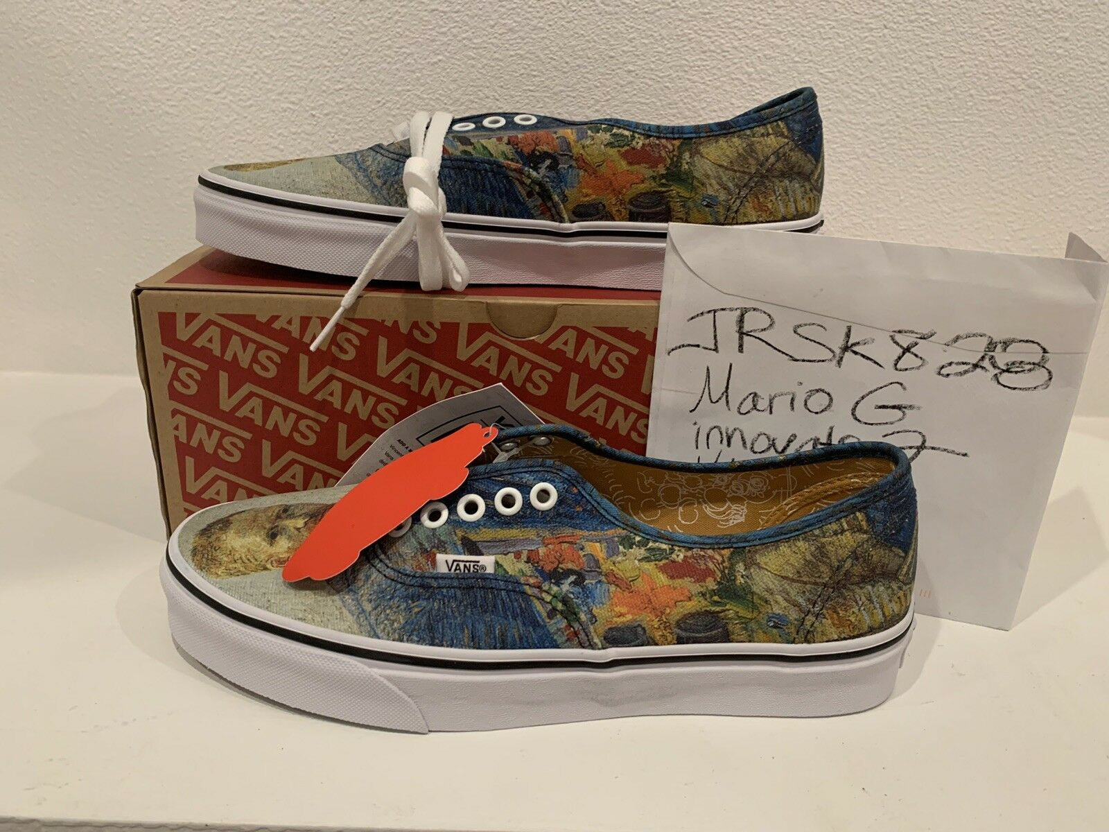 VANS X VAN GOGH MUSEUM SELF PORTRAIT sz 9 vincent authentic fear god mastermind