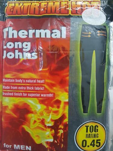 Da Uomo Termici Lunghi Johns manica corta T-shirt Inverno Caldo Caldi Termici Tutte le Taglie