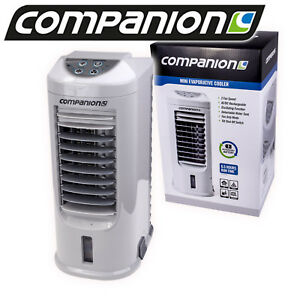 EVAPORATIVE-PORTABLE-FAN-COOLER-RECHARGEABLE-amp-12V-CARAVAN-CAMPING-CAMP-AIR-NEW