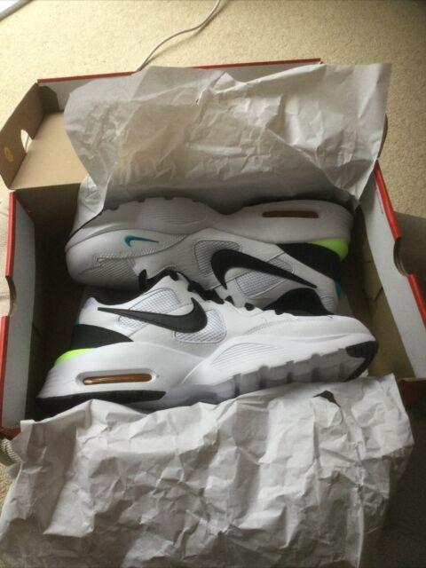 Nike air max fusion CJ1670 White Mens Size Uk 11. RRP £79.99
