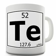 Periodic table of elements 52 te tellurium symbol mug ebay item 1 twisted envy periodic table of elements te tellurium ceramic novelty gift mug twisted envy periodic table of elements te tellurium ceramic novelty urtaz Image collections