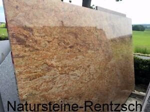 Madura gold als abdeckung tischplatte terrassentisch for Terrassentisch granit