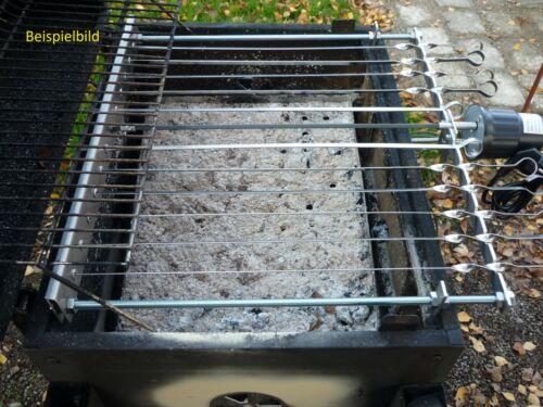Spießdreher für 10 Spieß Abst 5,5cm Weber Grill Mangal ohne Zubehör