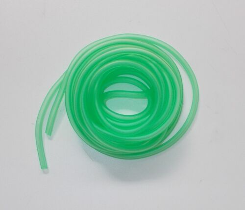 1 METRO 121690020 TUBO BENZINA IN SILICONE COLORE VERDE DIAMETRO Ø 3 x 5 mm