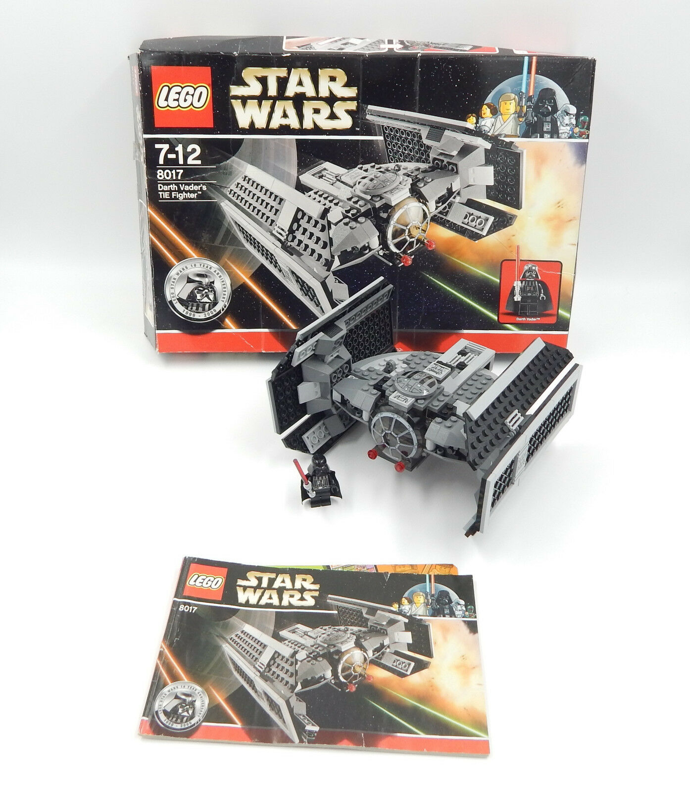 LEGO STAR WARS 8017 Dark vador's Tie Fighter-D' OCCASION