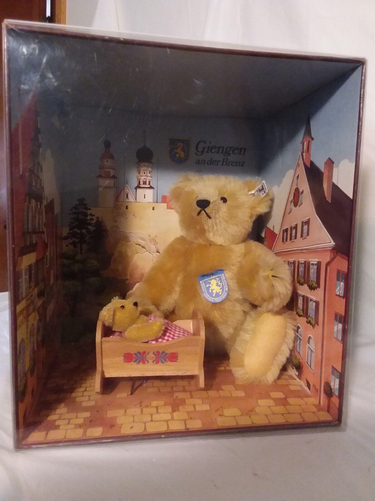 Giengen Teddy Bear Set, Margarete Steiff, Button in Ear, limited edition