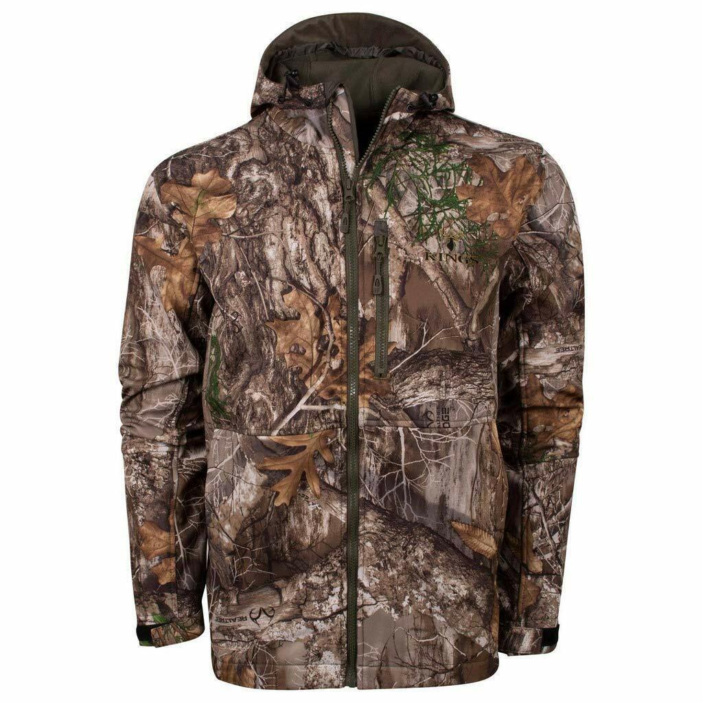 King's chaqueta de cáscara suave KC1 Camo Realtree Borde