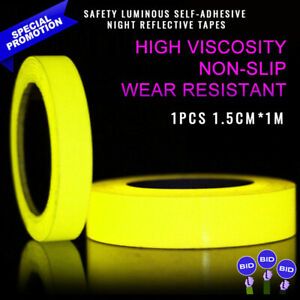 1Pc-Safety-Luminous-Self-Adhesive-Night-Reflective-Tapes-Decal-Glow-In-The-Dark