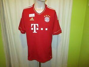 FC-Bayern-Muenchen-Original-Adidas-Heim-Trikot-2011-12-034-T-034-Gr-M-L-Neu
