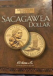 Sacagawea-Millennium-Edition-Folder-2000-P-amp-D-Album-H-E-Harris-amp-Company-Book-2