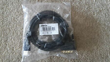 XENTA HDMI TO DVI CABLE BLACK 2M DIGITAL LEAD PC LAPTOP HDTV LCD MONITOR