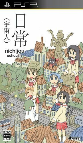 Used PSP Nichijou: Uchuujin  Japan Import ((Free shipping))