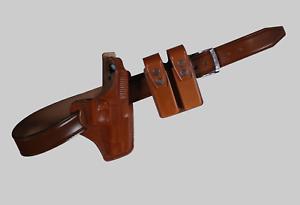 KB34106 Combo Panqueque Funda RH & doble bolsa del Mag Y Cinturón Para Sig Sauer P226