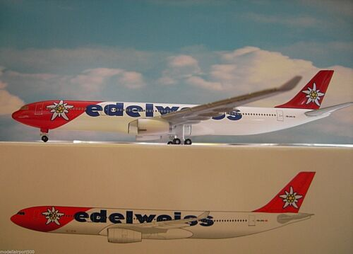 Hogan Wings 1:500 Airbus A330-300 edelweiss HB-JHQ  HO5989  Modellairport500