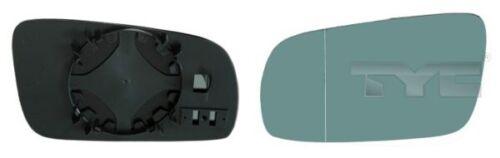 TyC cristal espejo exterior 302-0026-1 para b5 a3 a4 a6 audi c4 a8 c5 asphärisch