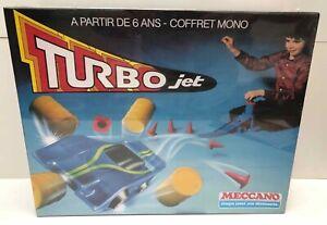 Coffret Mono TURBO JET (type Gyrojet) - Meccano réf. 250001 - 1980's - Neuf