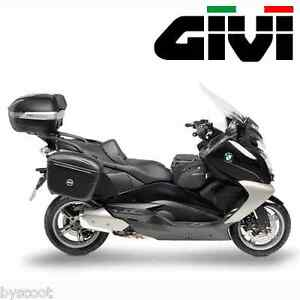 support fixings givi bmw c 650 gt 2012 à 2015 top case scooter
