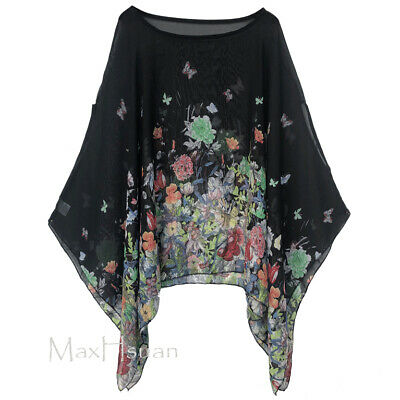 20 16 22 24 New Ladies Womens Plus Size Butterfly Batwing Top 14 18