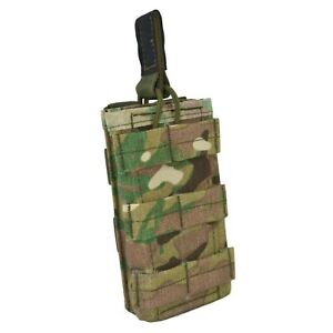 SPOSN SSO Molle RAID Fast Pouch For 1 Rifle MAG With Open Top Olive