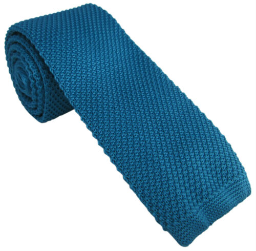 Knitted Skinny Tie Various Colours