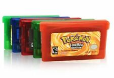 Pokemon Sapphire FireRed LeafGreen Ruby Emerald Gameboy Advance Red Blue Crystal