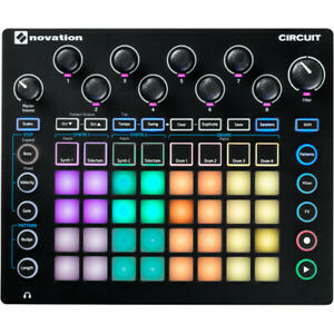 Details about NEW Novation Circuit Groove Box + Sample Import Ableton  Synthesizer Drum Machine