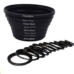 8pcs-49-52-55-58-62-67-72-77-82-mm-Step-UP-Filter-Ring-Adapter-Set-for-DSLR