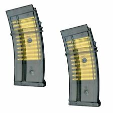 LOT OF 2 - Double Eagle M85P CLIP Magazine for G36 M85 AEG Airsoft Rifle Guns