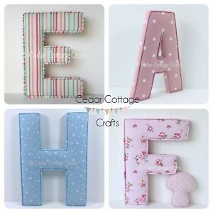 Nursery-Fabric-letters-EX-LARGE-Wall-Art-name-handmade-personalised-padded