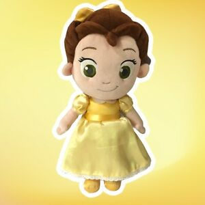 Disney-Store-Beauty-and-Beast-Princess-Belle-Baby-Toddler-Plush-Doll-12-034-Clean