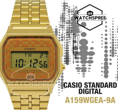 1 of 1 - Casio Digital Watch A159WGEA-9A