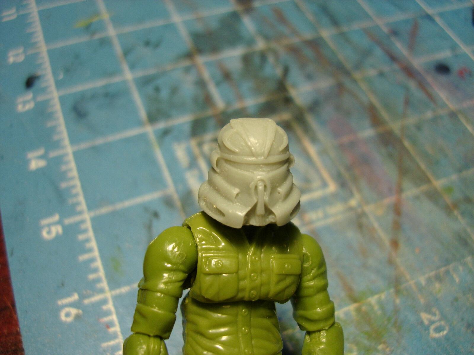 "MH135 Custom Cast head sculpt use w//3.75/"" Star Wars GI Joe Acid Rain figures"
