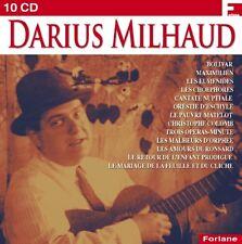Darius MILHAUD / (10 CD) / NEUF