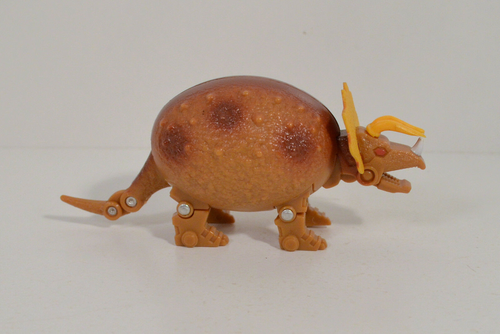 1993 Triceratops 4.5  Jurassic-Era Transformable Dino-Egg Meteorbs Action Figure