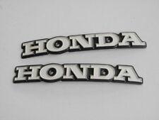 NOS Genuine Honda CG125 CB125 S CL100 CB200 CB100 Fuel Gas Tank Emblem Badge L+R