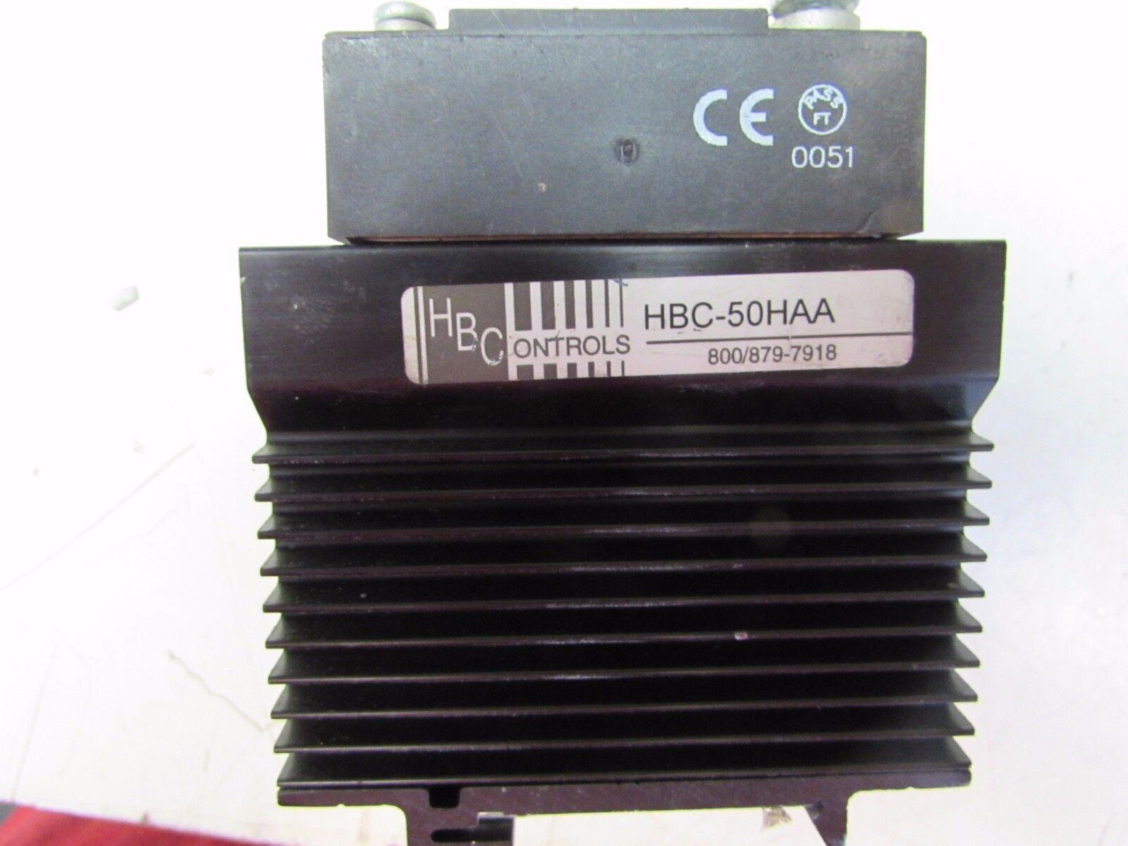 CRYDOM HA4850 SOLID STATE RELAY HBC-50HAA HEAT EXCHANGER             W259