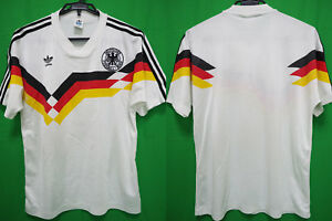 92e8d396cfe52b Image is loading 1990-1992-West-Germany-Deutschland-DFB-Jersey-Shirt-
