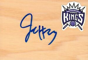 Sacramento Kings Jason Thompson Autographed Floorboard COA