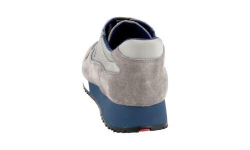 Bluette 39 5 Nouveaux 38 Chaussures 3e5939 Luxueux Ghiaia Prada xqnOIv6