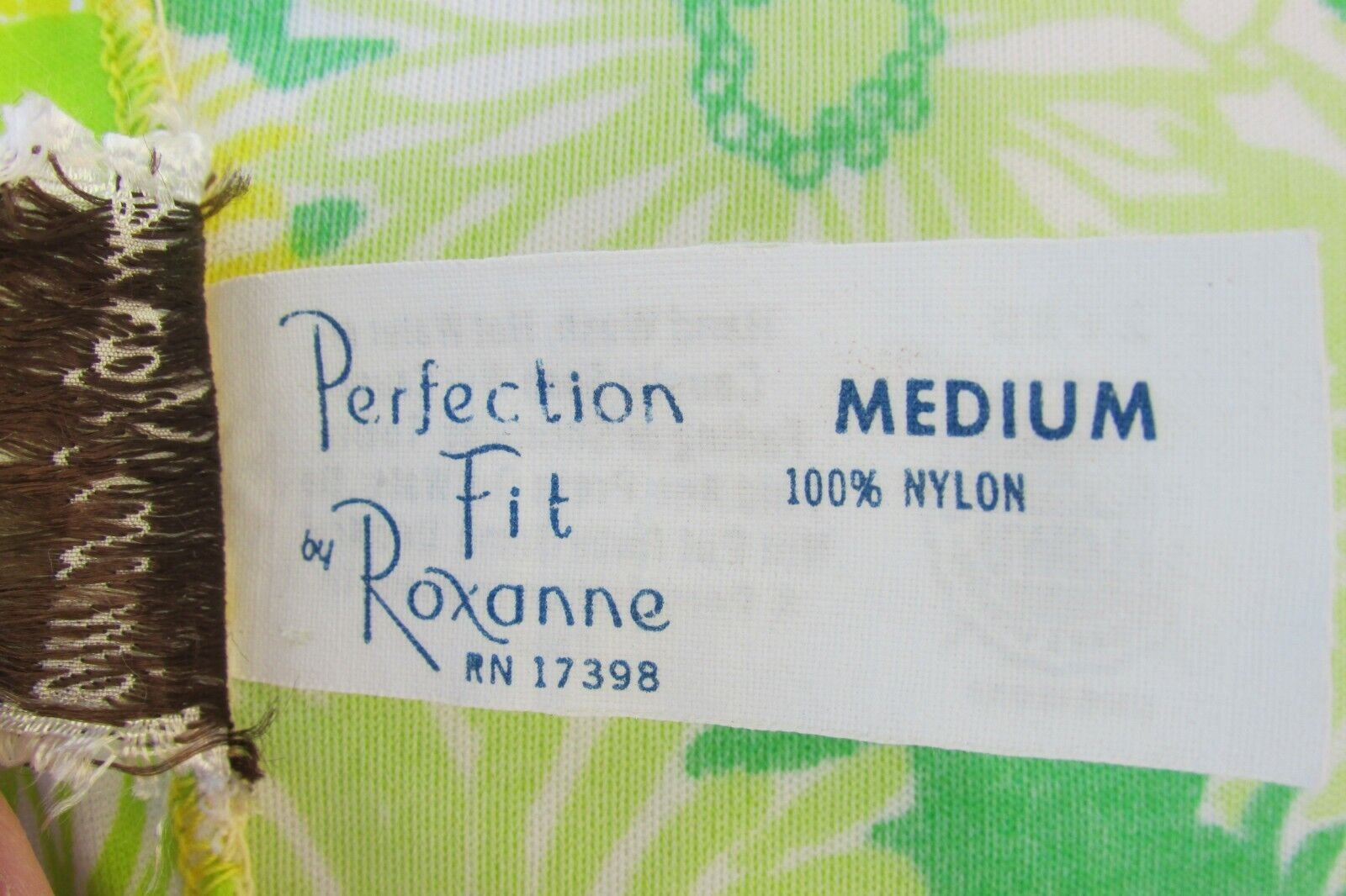 GREEN NEON VTG 70's Swimwear Cover Up-Perfection … - image 8