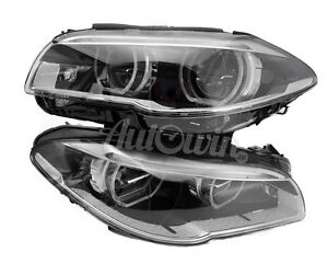 Details about BMW 5 SERIES F10 LCI F11LCI FULL LED ADAPTIVE HEADLIGHT LH &  RH SIDE GENUINE NEW
