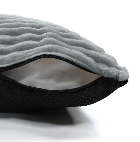 Large Extra Large Faux Suede Corduroy Floor Cushion Removable Washable Cushion